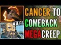 Kunkka Fury To Comeback MEGACREEP with BF Fng Gameplay Dota 2