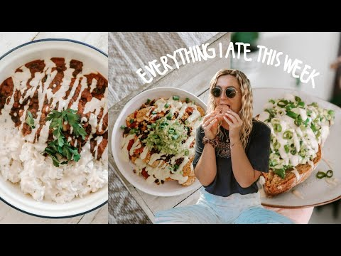 what i eat in a week (vegan + gluten free) | easy and delicious recipes