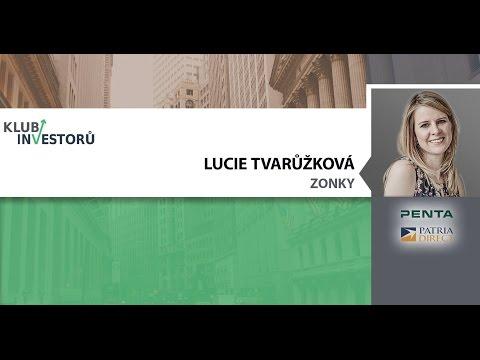 Lucie Tvarůžková - P2P lending (investiční alternativa)