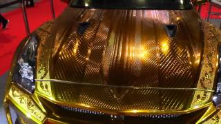 Dhs3 million gold car in Dubai