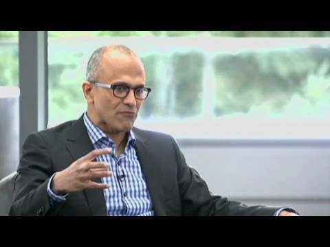 """Microsoft CEO: """"Mobile first, cloud first"""""""