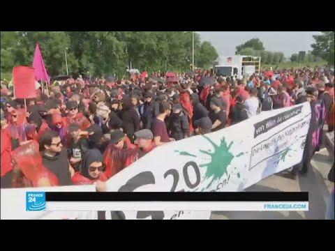 تعزيزات إضافية في هامبورغ لمواجهة المتظاهرين  - 17:22-2017 / 7 / 7