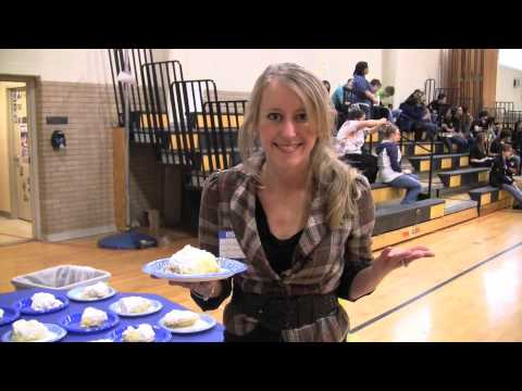 East Windsor High celebrates Pi with pie