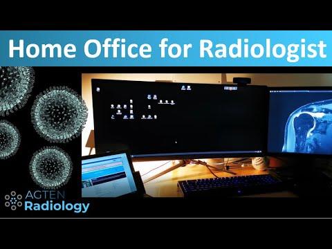 How To Setup A Radiologist Home Office During Coronavirus