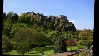 Эдинбургский замок.  Великобритая.(История появления Эдинбургского замка (а с ним - и самого города Эдинбург) настолько туманна и окутана тайно..., 2014-10-20T15:11:31.000Z)