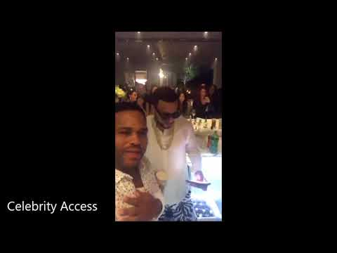 P. Diddy Having A Little Party At His House