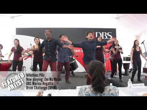 [BB FEATURED ARTIST] Infectious Pills: DBS Marina Regatta Drum Challenge 2014 [Zee Ma Ma Lei]