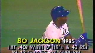 Download 1986 Bo Jackson 1st hit Mp3 and Videos