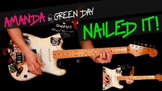 Amanda - Green Day guitar cover by GV +chords