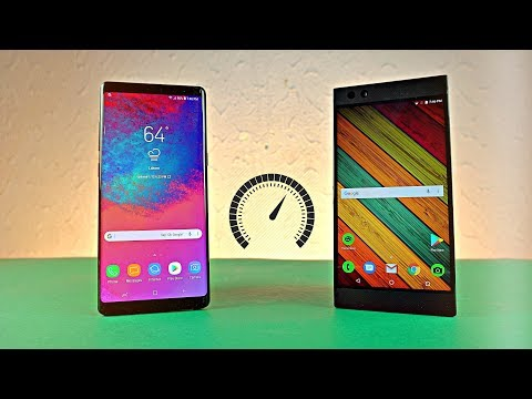 Razer Phone vs Samsung Galaxy Note 8 Android 8.0 Oreo - Speed Test!