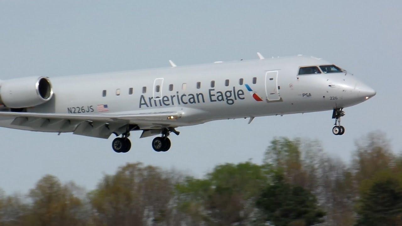 American Eagle CRJ-200ER [PSA Airlines] [N226JS] Landing ...