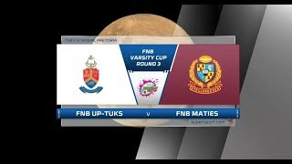 FNB Varsity Cup | UP-TUKS vs Maties