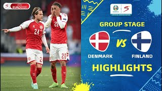 UEFA Euro 2020 | Group B | Denmark v Finland | Highlights