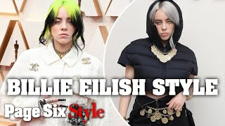 How Billie Eilish's Style Has Changed Over the Years | Page Six Celebrity News