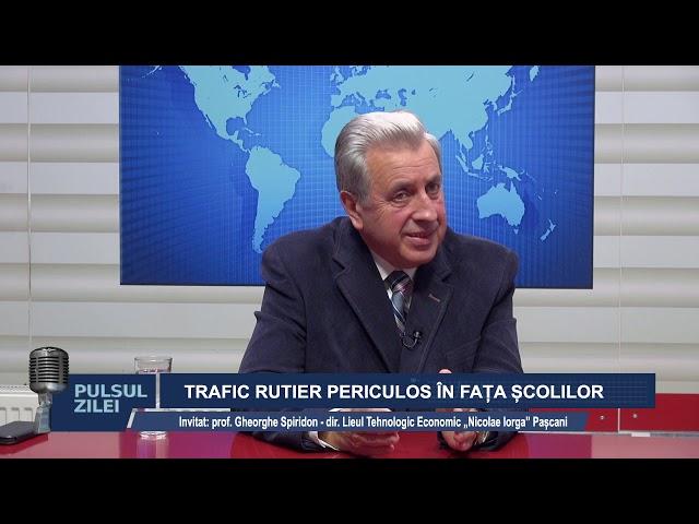 PULSUL ZILEI 27 SEPT 2019. TRAFIC RUTIER PERICULOS IN FATA SCOLILOR. UN NOU OPERATOR LA SALUBRITATE