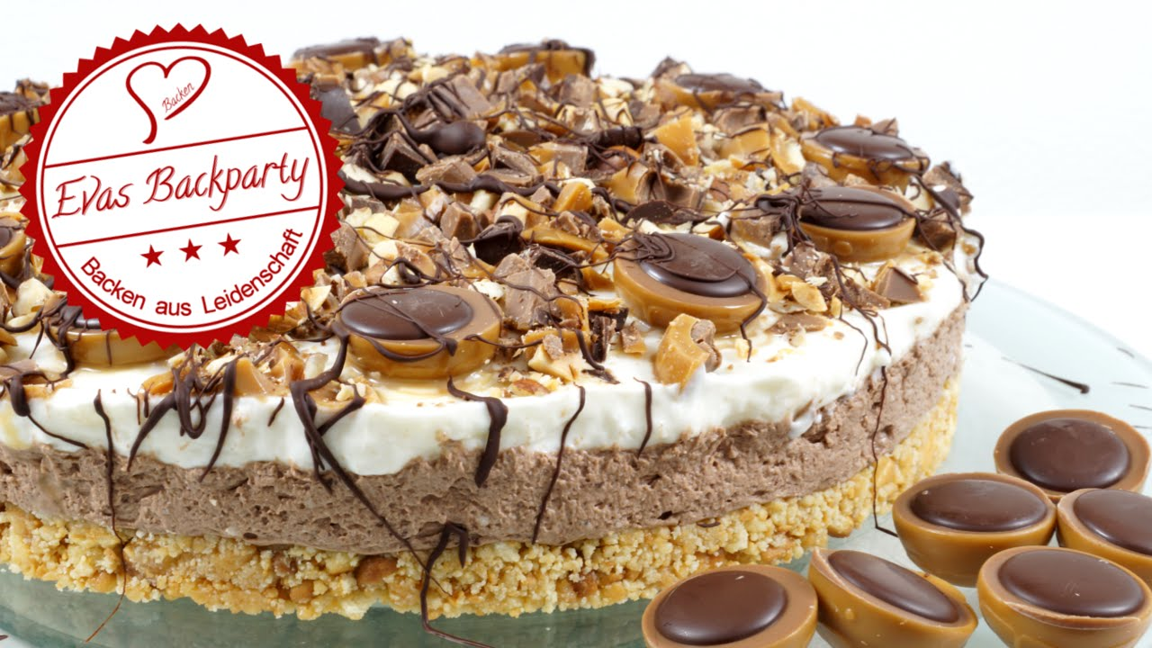 cremige Toffifee - Torte / ohne zu Backen - YouTube