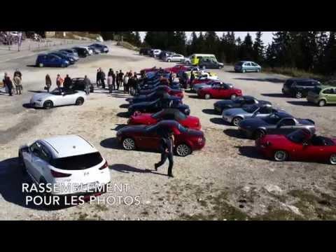Mont Blanc Automobile - Clubs Mx5 - Rallye historique Mazda 2015