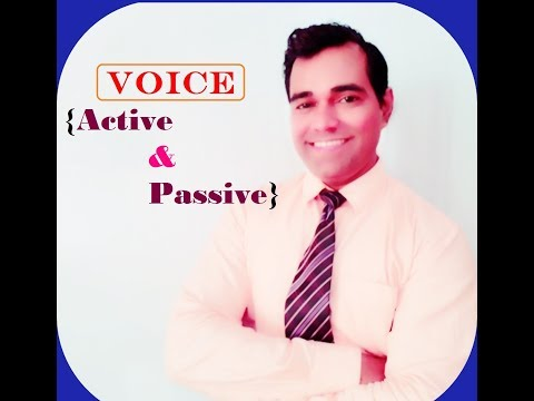 Active Passive Voice in Hindi - Voice Rules In English Grammar - Voice Active and Passive Grammar