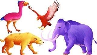 Lắp Ráp Bộ Xương Mãnh Thú: Kỷ Băng Hà Ice Age Games: Dinosaur Hunter