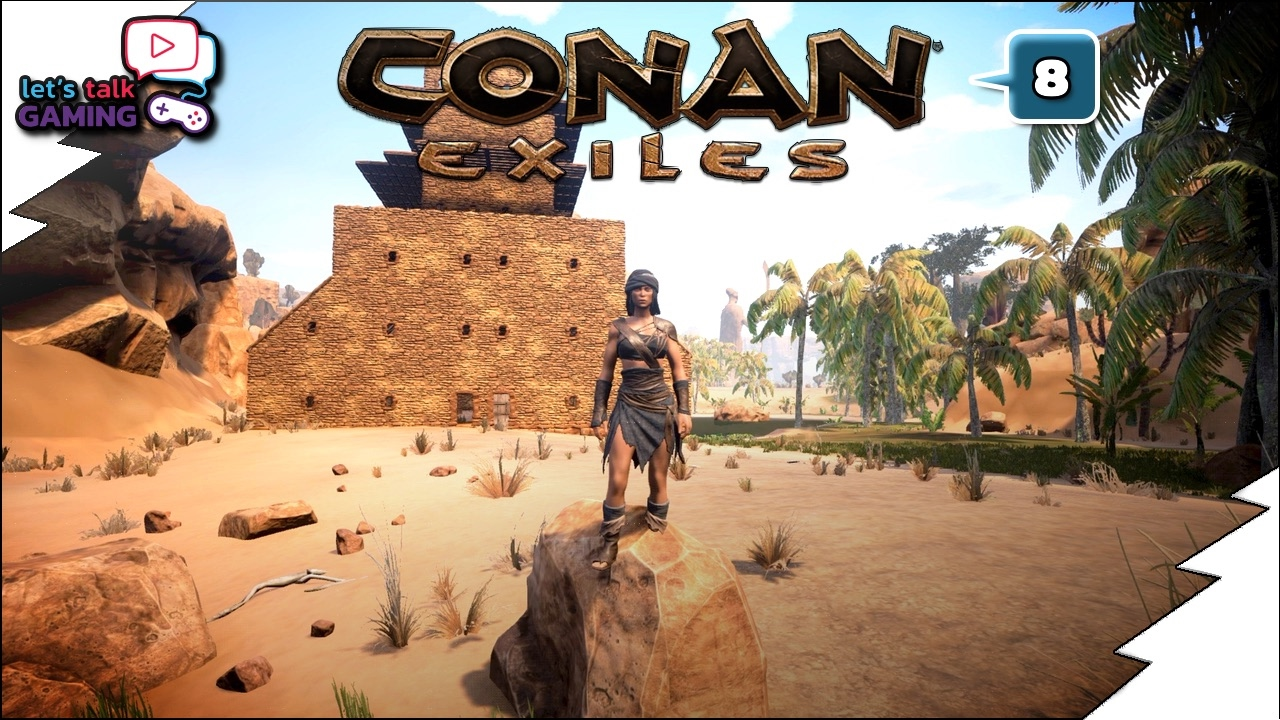 Conan exiles building tips and tricks e08 youtube for Construction tips and tricks