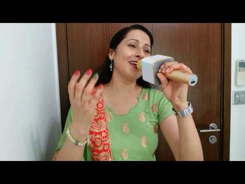 Chand se parda kijiye sung by Manju Bala