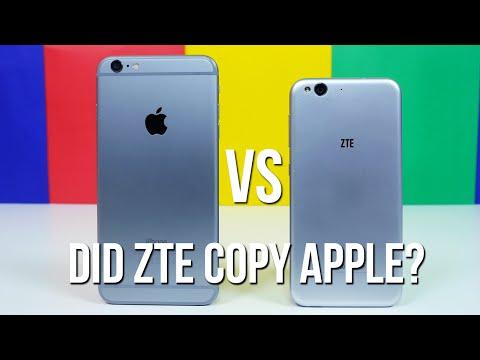 iPhone 6 Plus vs Blade S6 - Did ZTE copy Apple?