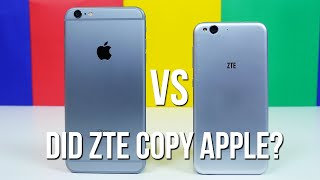 iPhone 6 Plus vs Blade S6 - Did ZTE copy Apple?