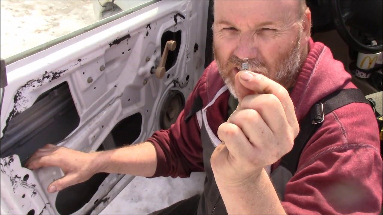 This Little Thing Locked Me In My Car  Kia Rio Door Lock Repair 101