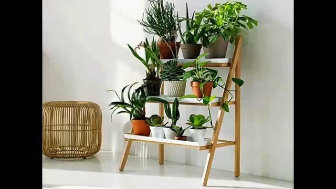 Indoor plant stands by camacoeshn.org - YouTube