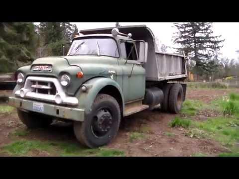 """1959 GMC 550-Series Dump Truck """"Bullfrog"""" Part 1"""