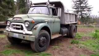 1959 GMC 550-Series Dump Truck