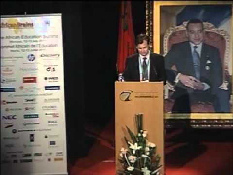 Mr Antoine Barre, VP Middle East, Med & Africa, HP, The African Education Summit 2011, Morocco