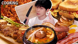 Real Mukbang:) Korean TOP 20 Cooking COMPILATIONS KOREAN HOME FOODS ㅣASMR MUKBNAG