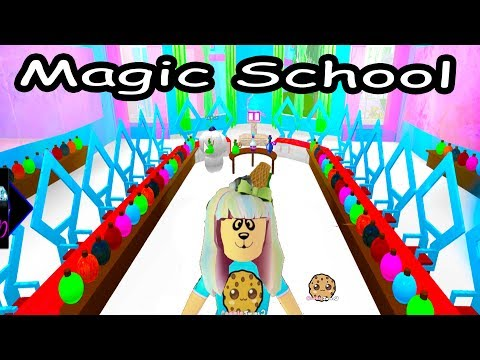 Going To Magic School - First Day Of Enchantix High  - Roblox Cookie Swirl C Let