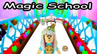 Going To Magic School - First Day Of Enchantix High - Roblox Cookie Swirl C Let's Play