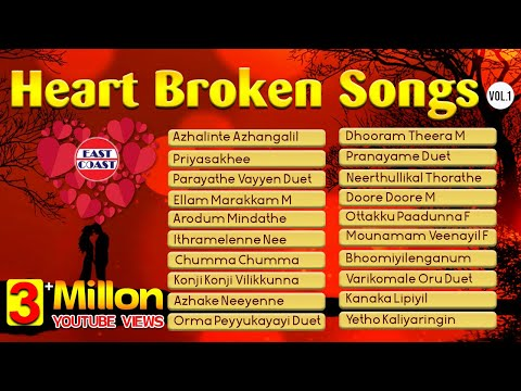 Heart Broken Songs | Malayalam Evergreen | Audio Jukebox