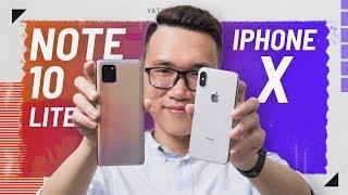 Đang định mua iPhone X thì tự nhiên ra Note 10 Lite?
