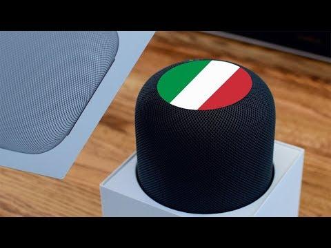 Apple HomePod: quando arriverà in Italia?