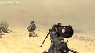 Call of Duty Modern Warfare 2 Sniper Mission Gameplay