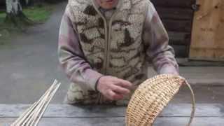 Корневатик. Технология изготовления плетеной корзины