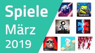 Top Spiele für Android & iOS - März 2019