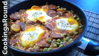 Portuguese Chorizo Egg Casserole Recipe