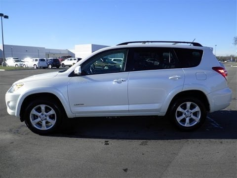 toyota rav4 limited fwd blizzard pearl 1owner trade 79k 4 sale. Black Bedroom Furniture Sets. Home Design Ideas