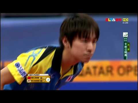 2016 Kuwait Open (MS-SF2) ZHANG Jike - FAN Zhendong [HD] [Full Match/Chinese]
