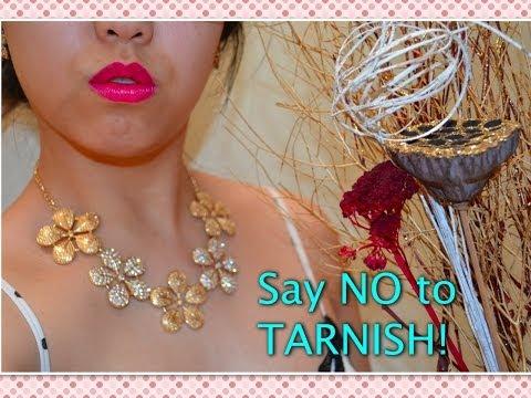Cheap Jewellery Fix - prevent tarnishing secret