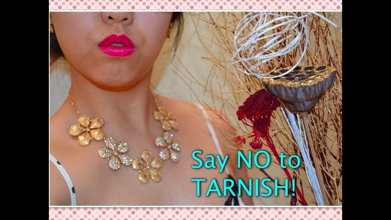 Cheap Jewellery Fix prevent tarnishing secret YouTube
