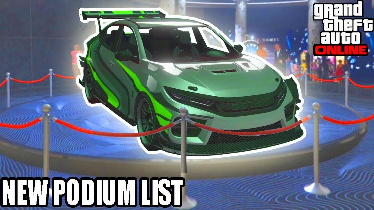 GTA Online: Next Podium Car | NEW PODIUM VEHICLE LIST | GTA Weekly Update | Summer DLC Release Date