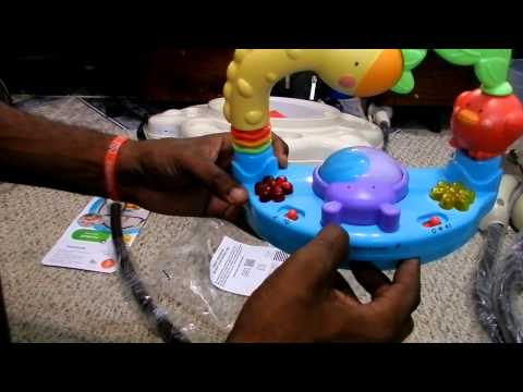 Fisher-Price Luv U Zoo Jumperoo Baby Jumper/Bouncer Unboxing.