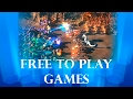 6 New Free To Play Games 2016 - 2017 + Donwload Links