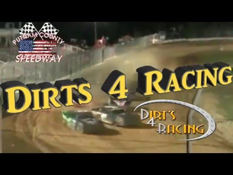 Dirts 4 Racing Hobby Stock Touring Series April 16th, 2016 promo